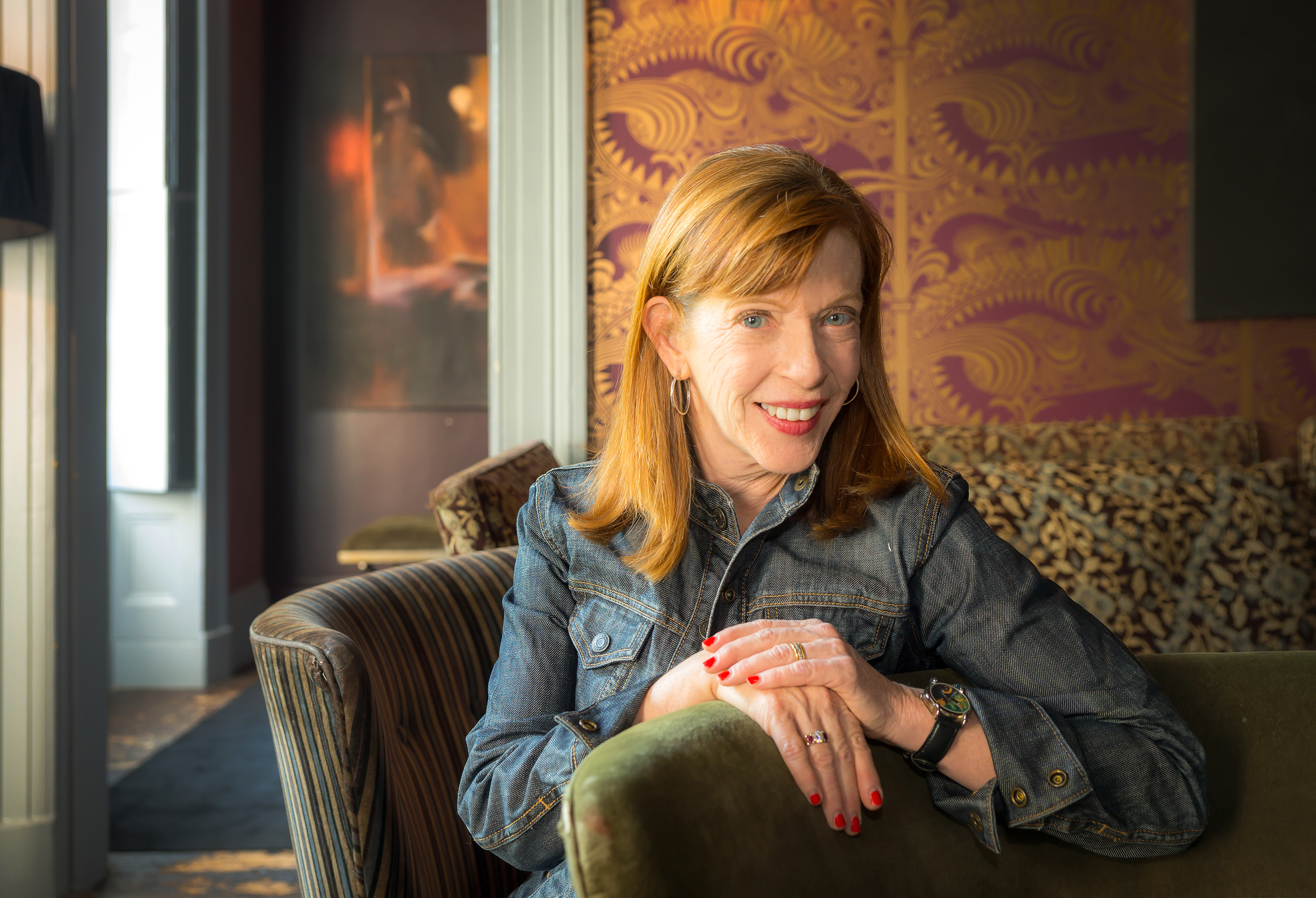 Susan Orlean in Conversation with Library Director Diane Kresh
