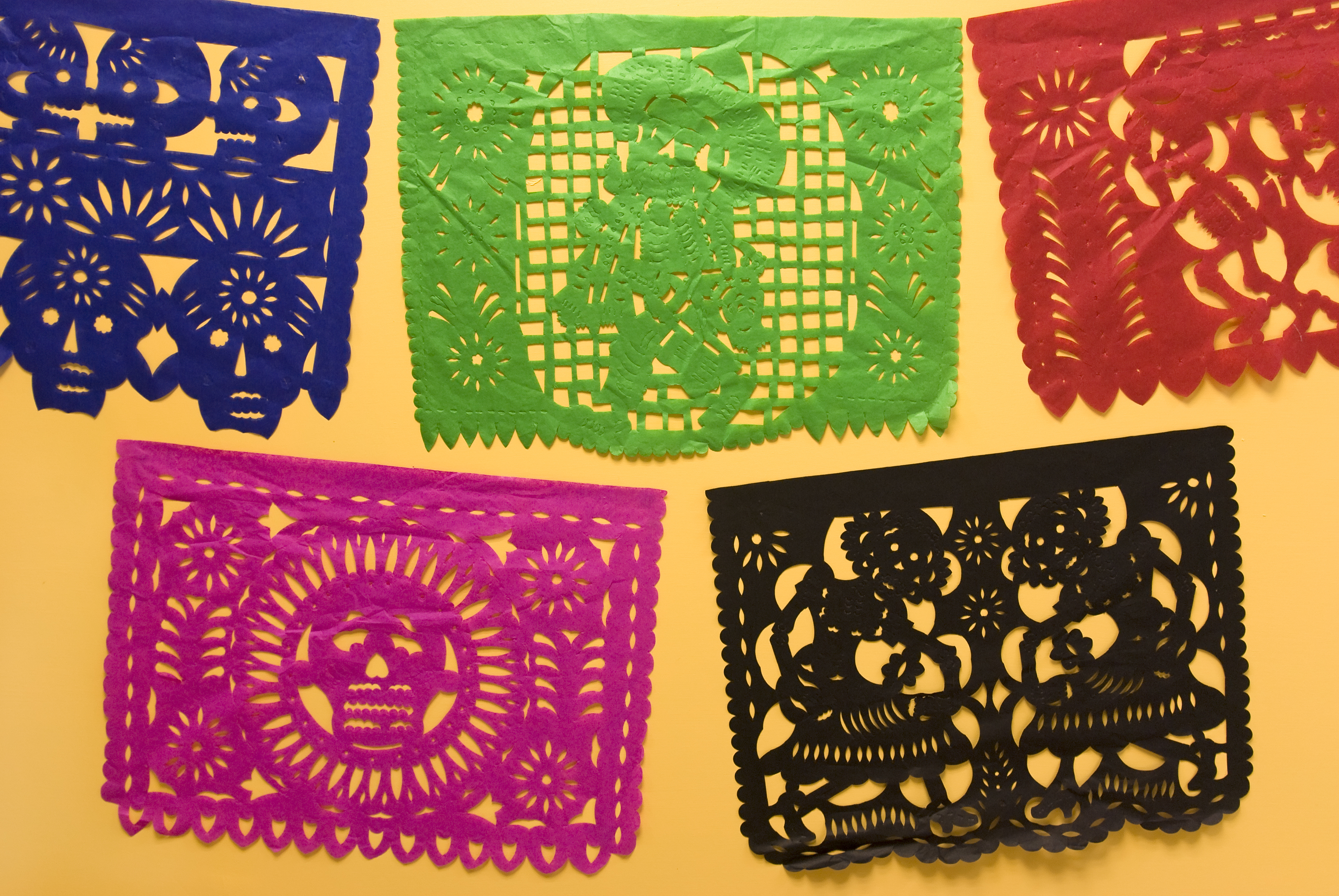 Papel Picado with MasPaz