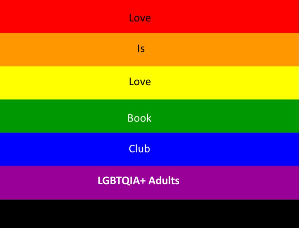 Love is Love LGBTQIA+ Book Club