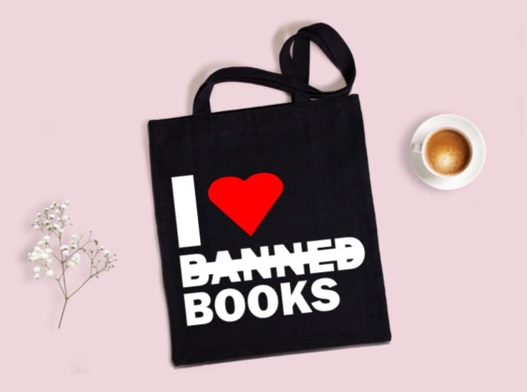 I Totes Read Banned Books Craft