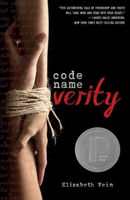 "Never Too Old Book Club: ""Code Name Verity"""