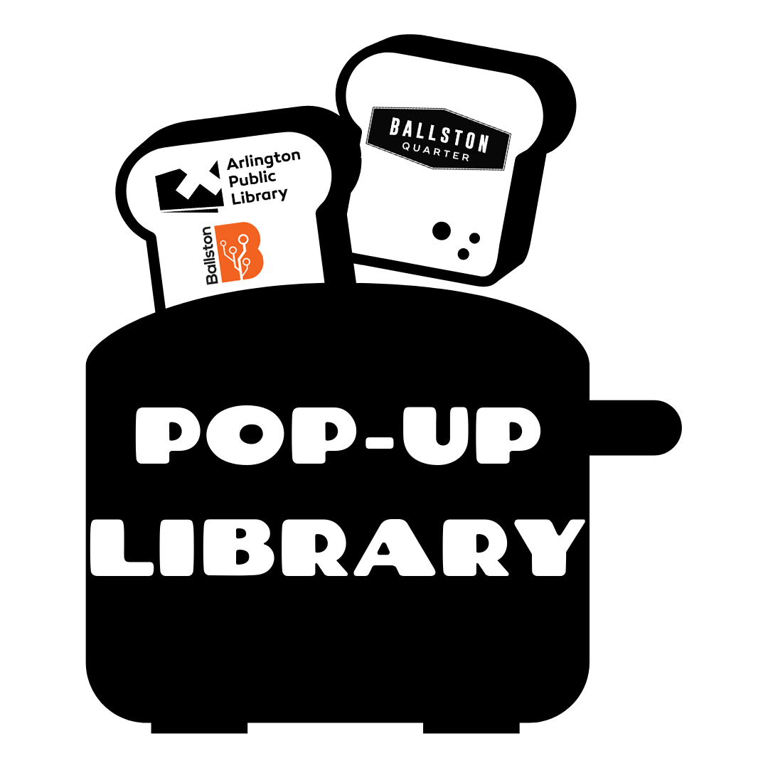Pop-up Library at Ballston Quarter Mall