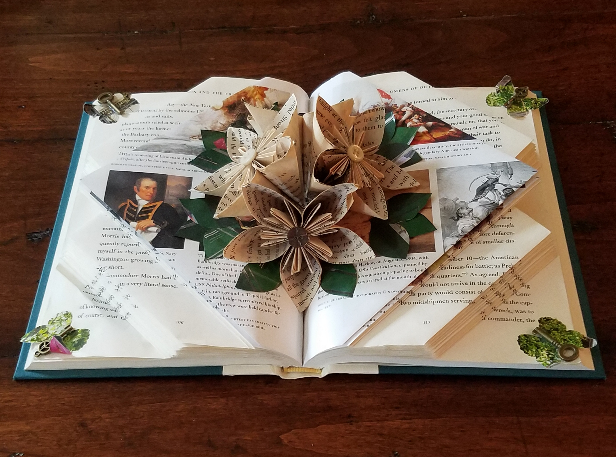 Get Crafty: Folded Book Art