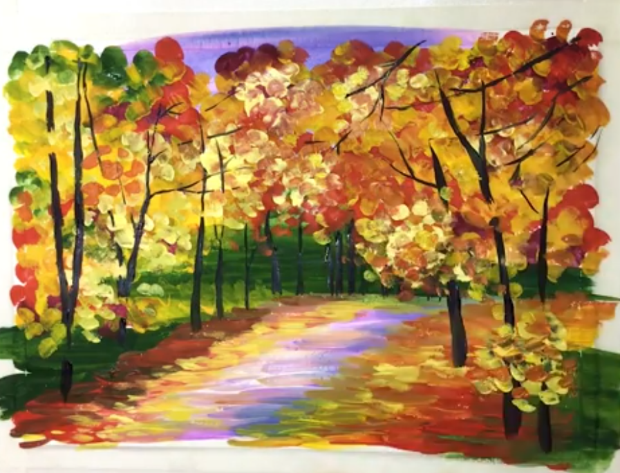 Get Crafty: Painting Fall Landscapes - for beginners