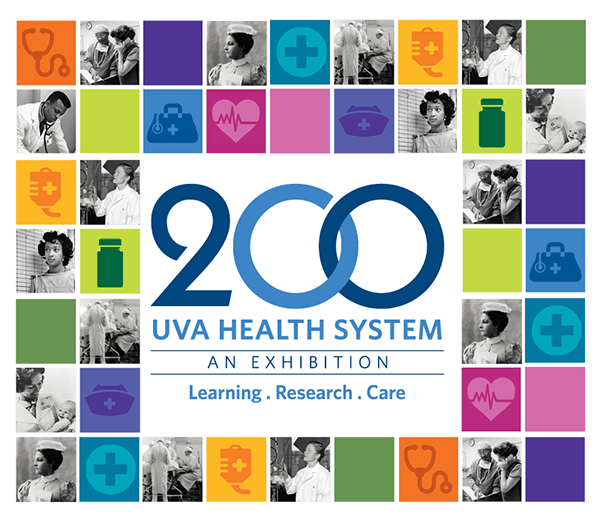 Docent tours for UVA Health System: 200 Years of Learning, Research, & Care