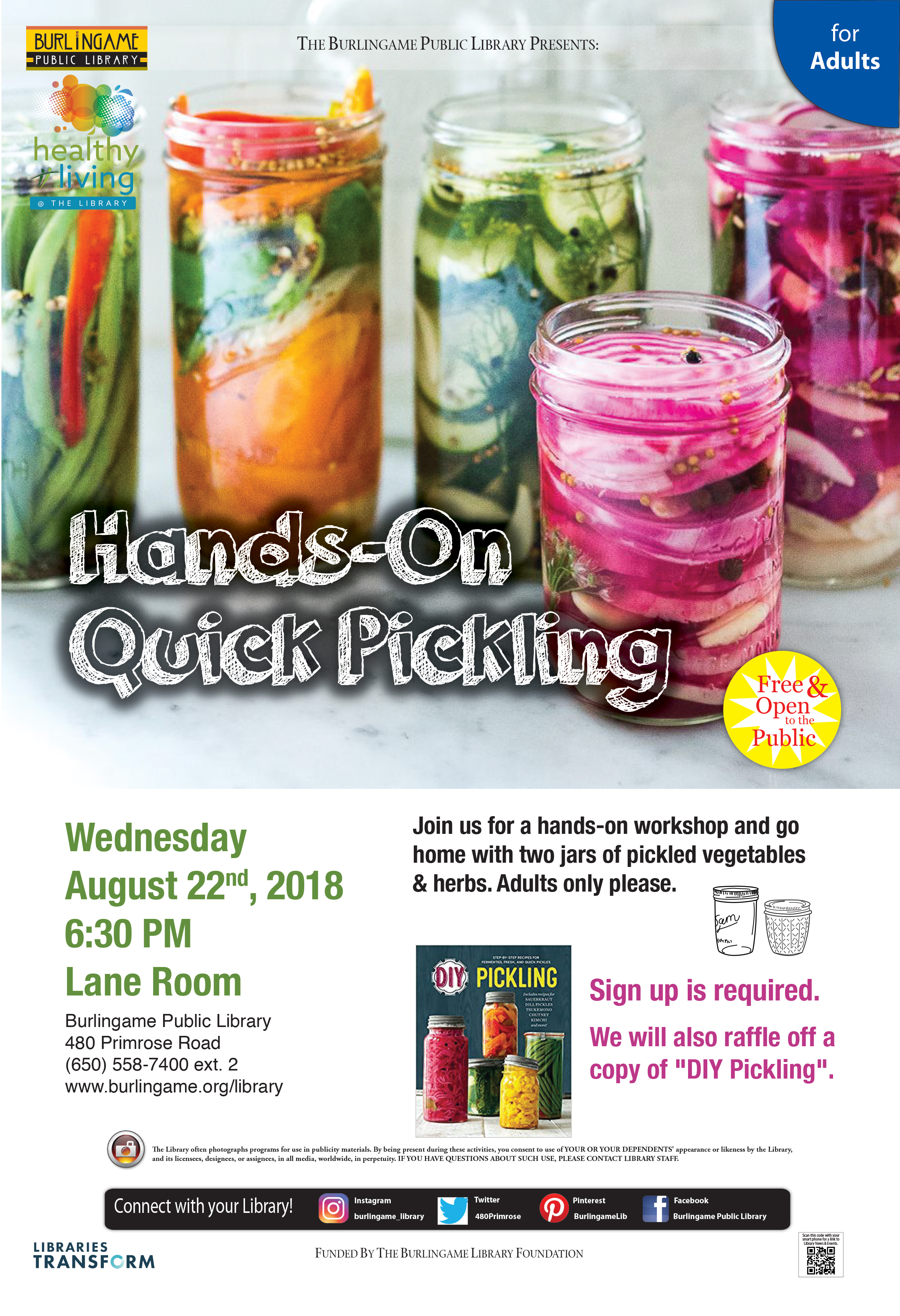 Hands-On Quick Pickling