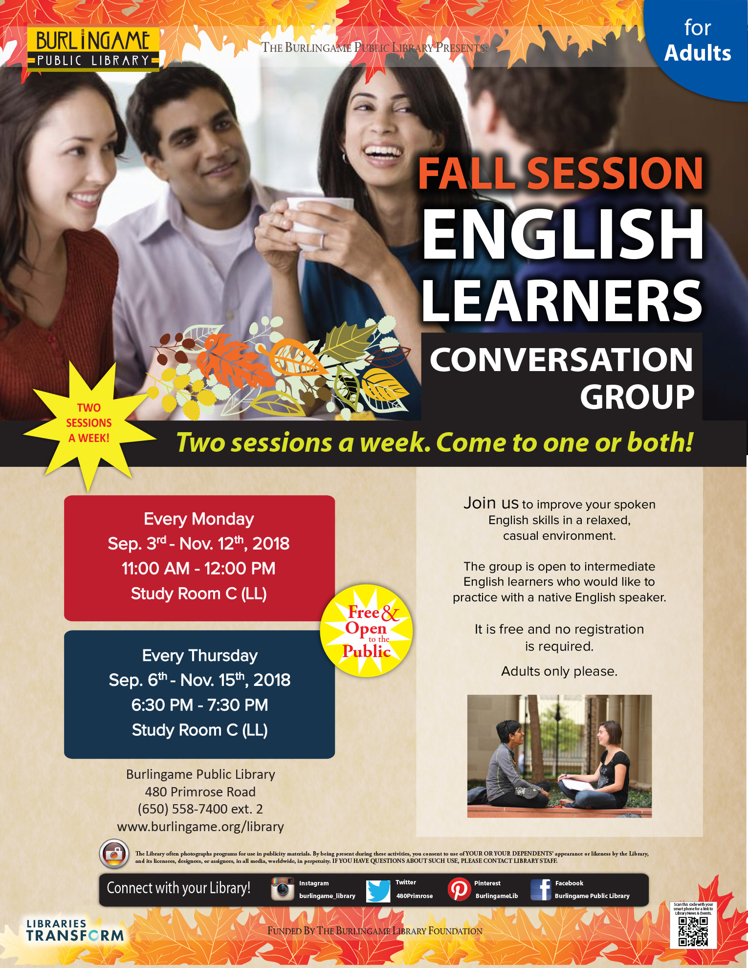 English Learners Conversation Group