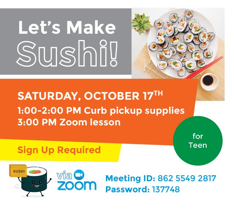 Let's Make Sushi!