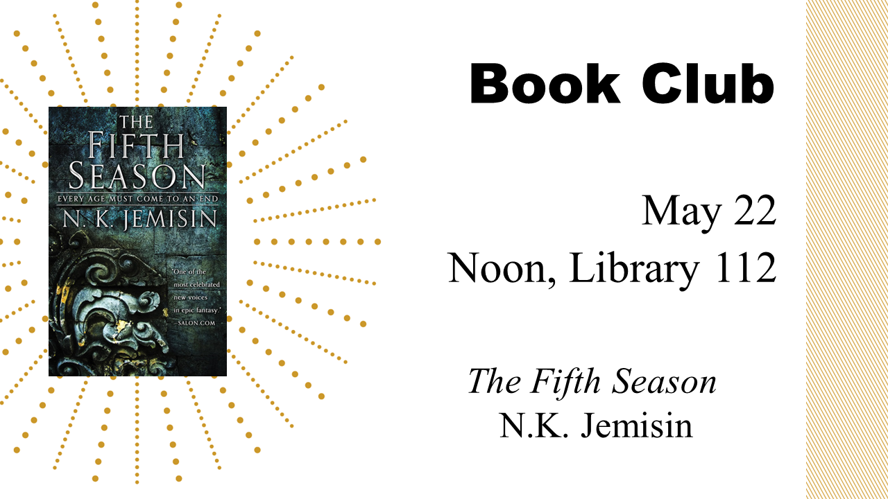 Book Club: The Fifth Season
