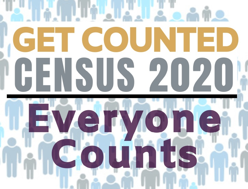 Census Day 2020:  Get Counted @ Helmke Library