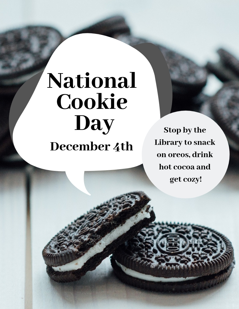 National Cookie Day at the Library