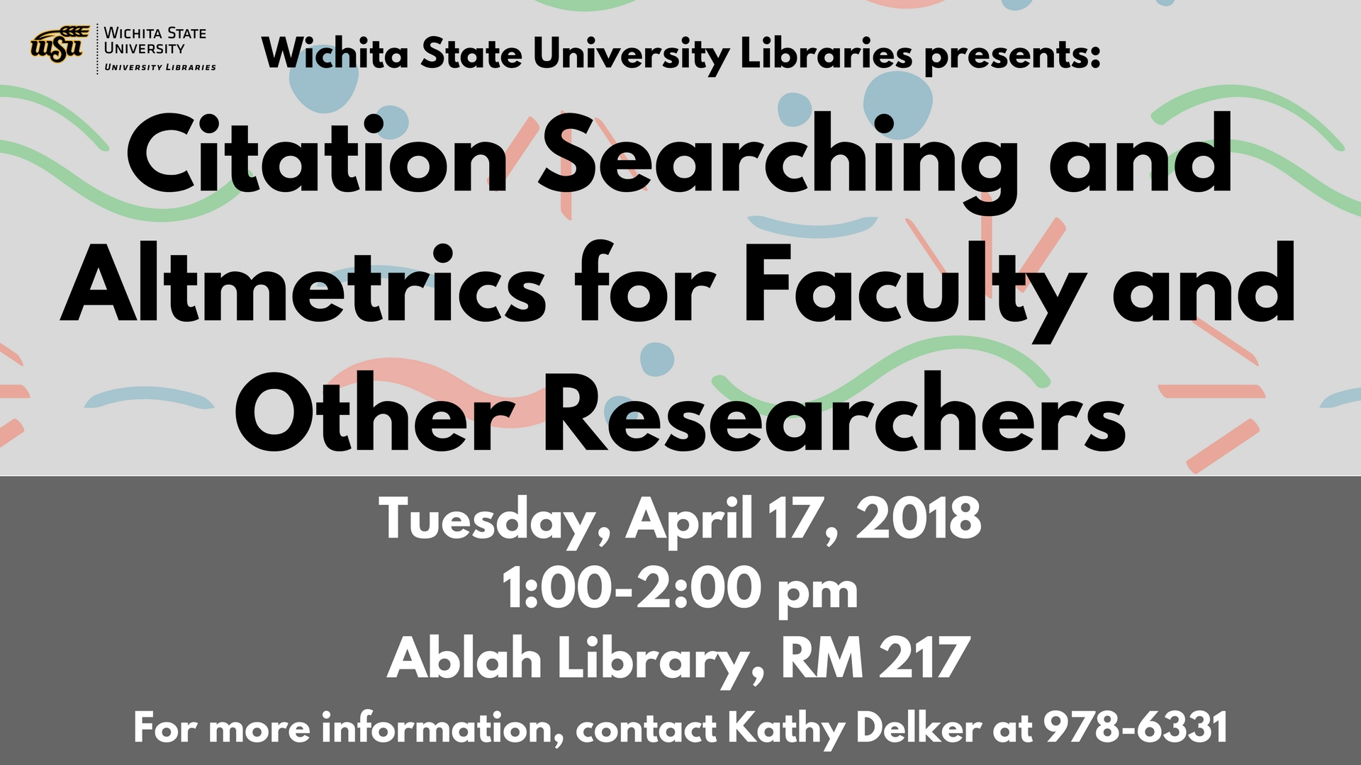 Citation Searching and Altmetrics for Faculty and Other Researchers