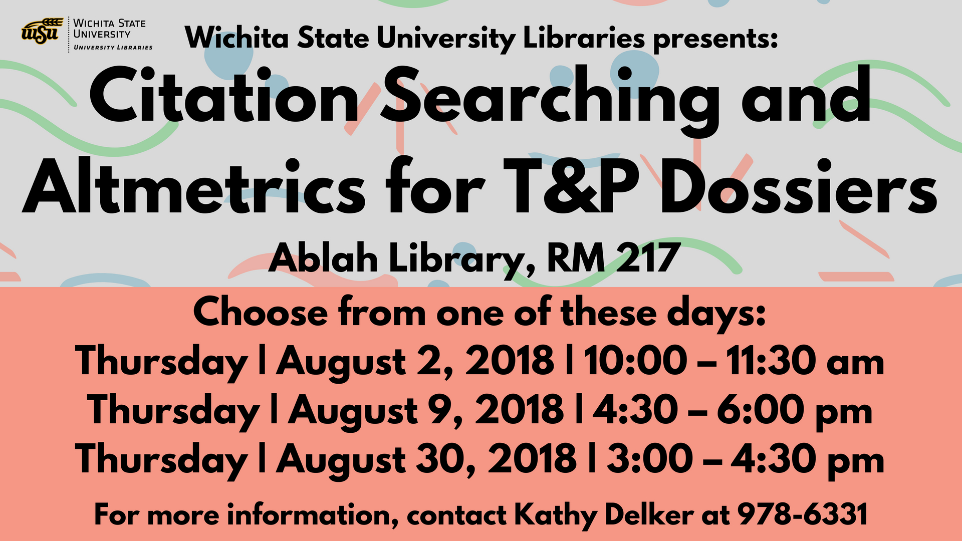 Citation Searching and Altmetrics for T&P Dossiers
