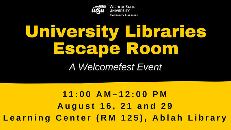 University Libraries Escape Room