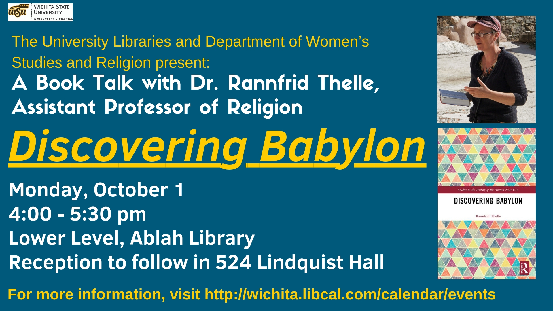 A Book Discussion with Dr. Rannfrid Thelle: Discovering Babylon