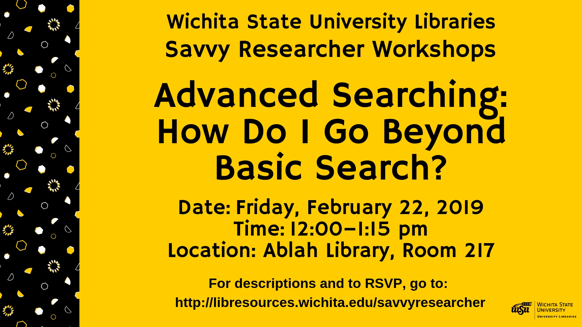 Advanced Searching: How Do I Go Beyond Basic Search?