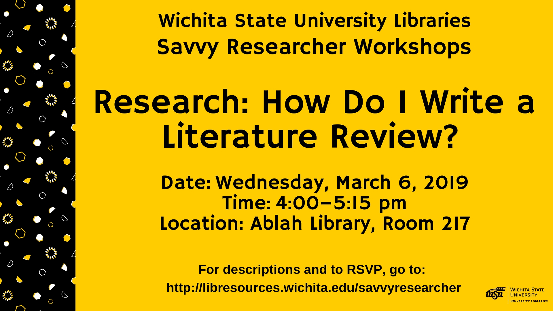 Research: How Do I Write a Literature Review?