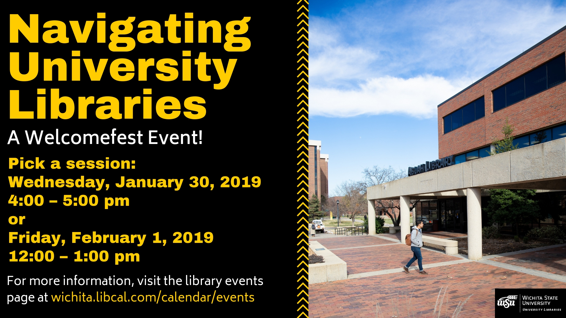 Navigating University Libraries: A Welcomefest Event!