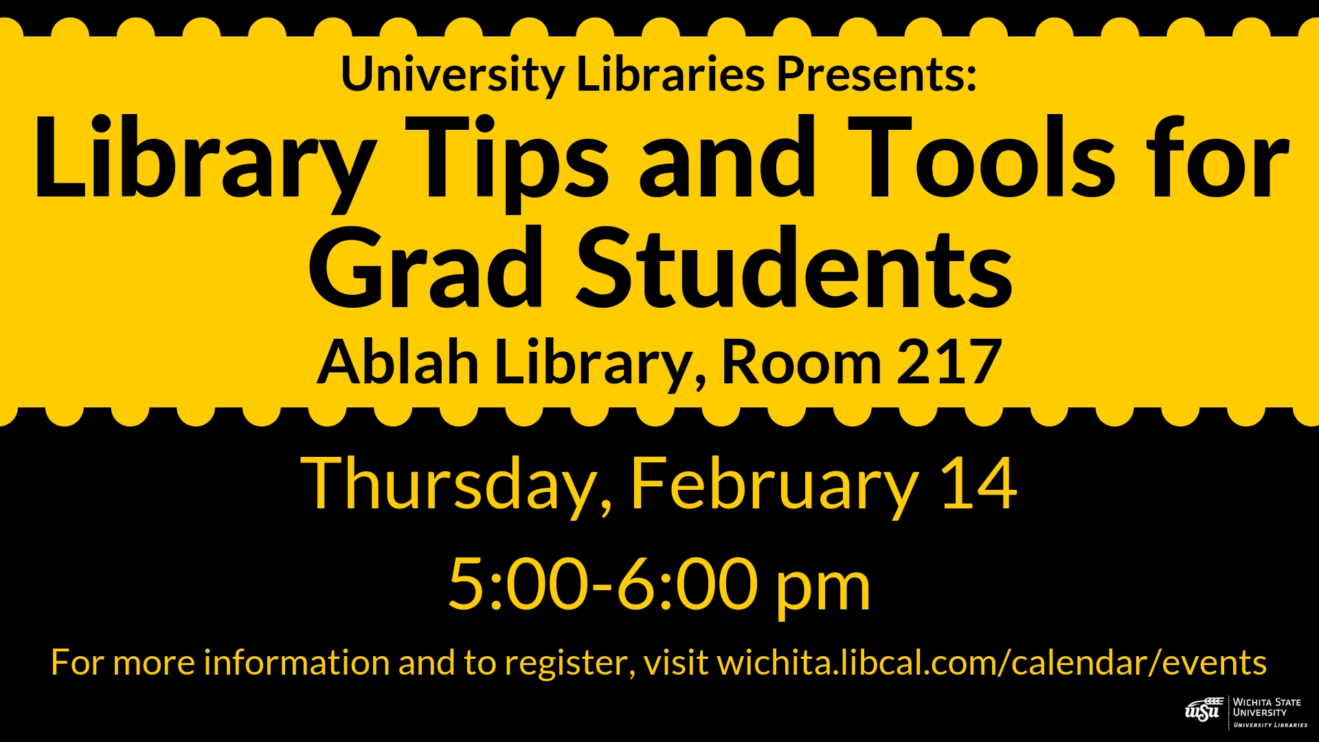 Library Tips and Tools for Grad Students