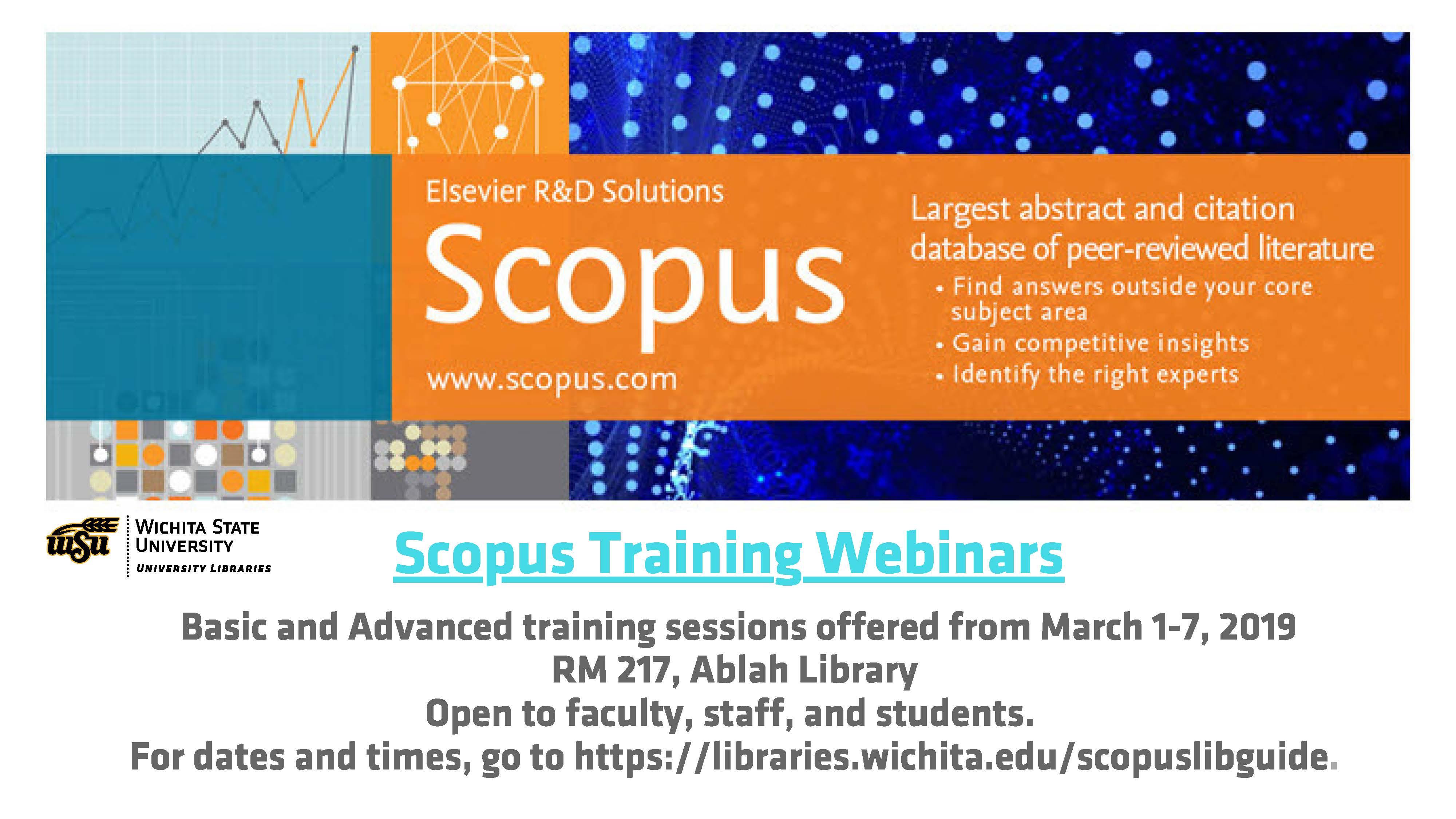 Scopus Webinar: Beyond the Basics