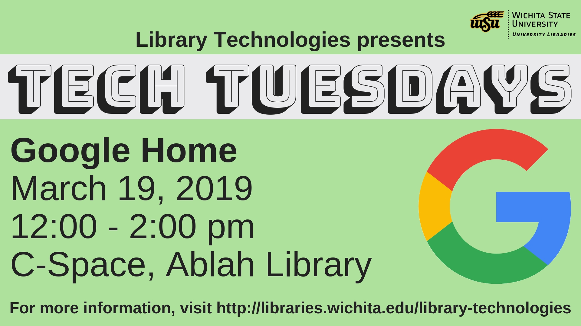 Tech Tuesdays: Google Home