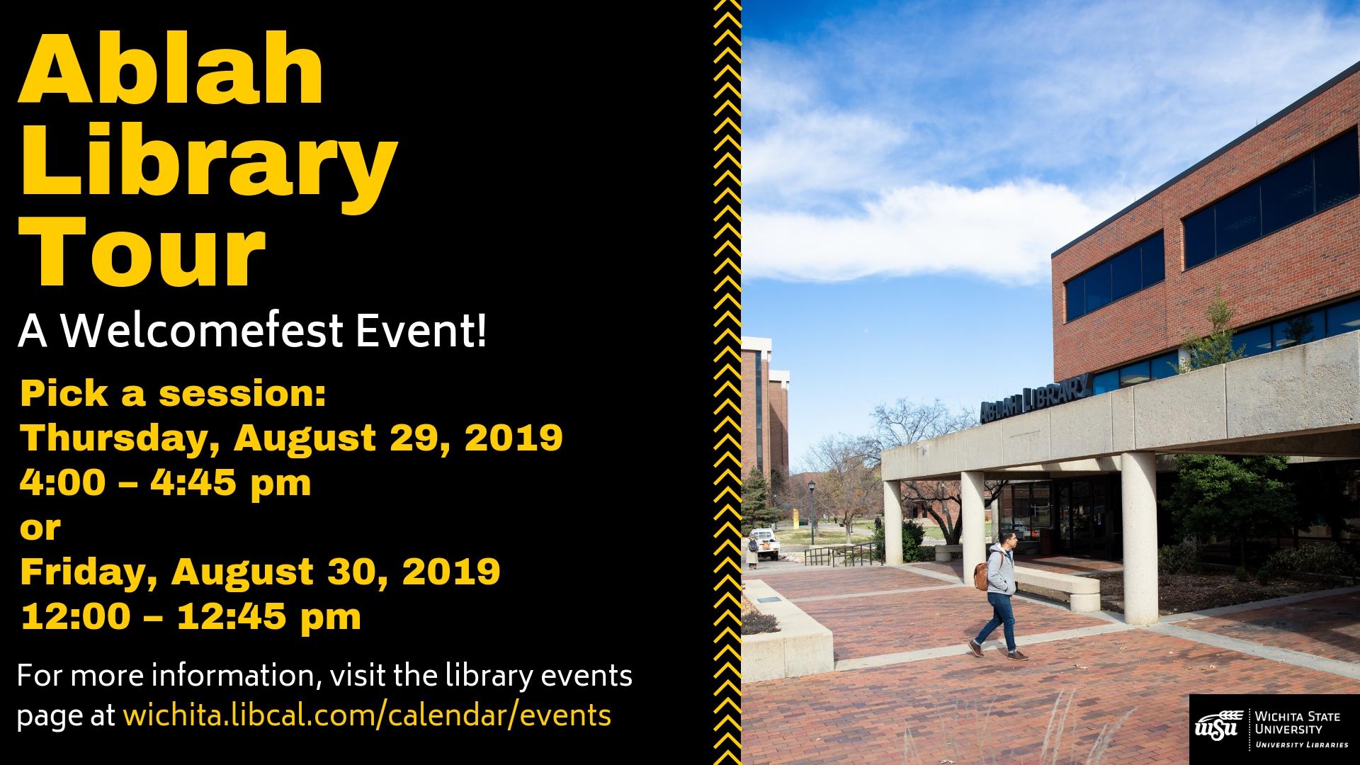 Ablah Library Tour
