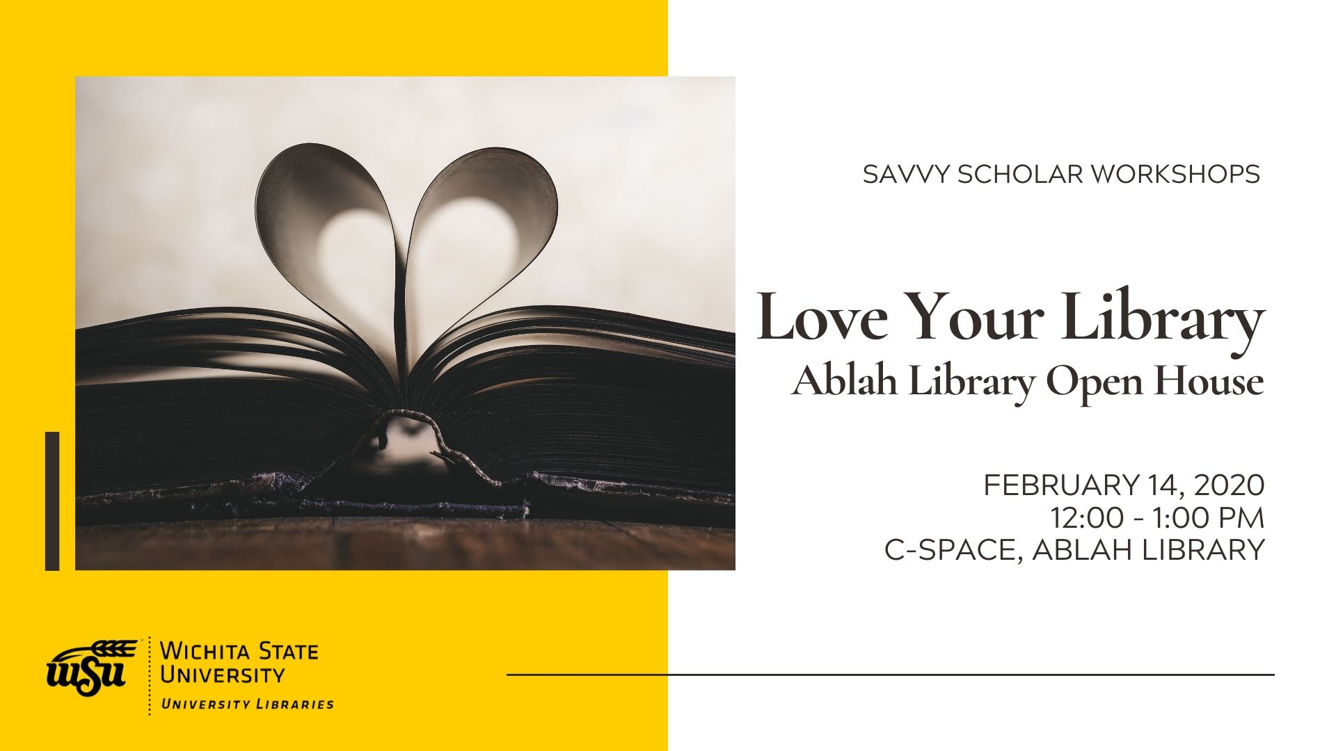 Love your Library: Open House