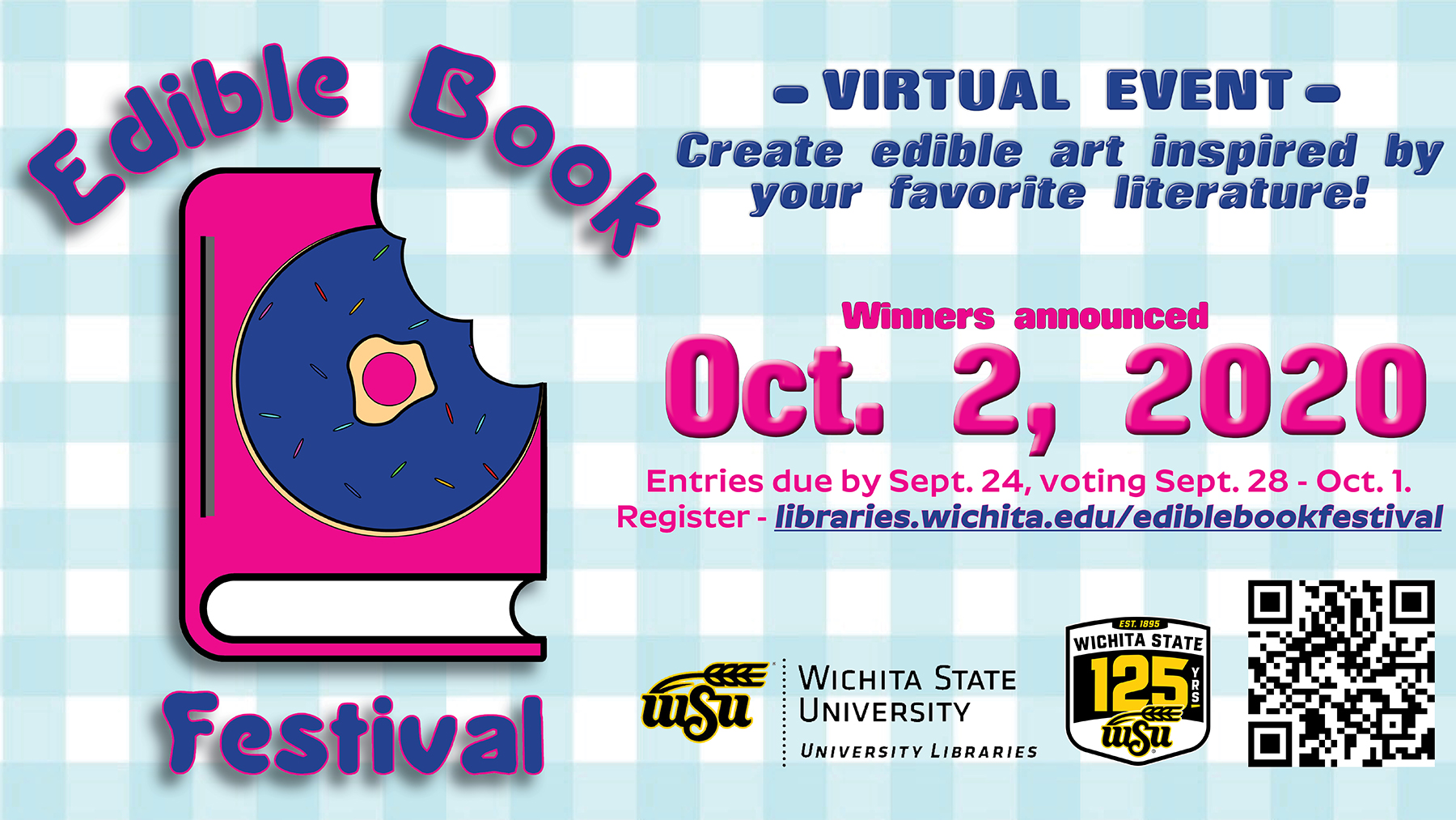 Edible Book Festival Entries Due