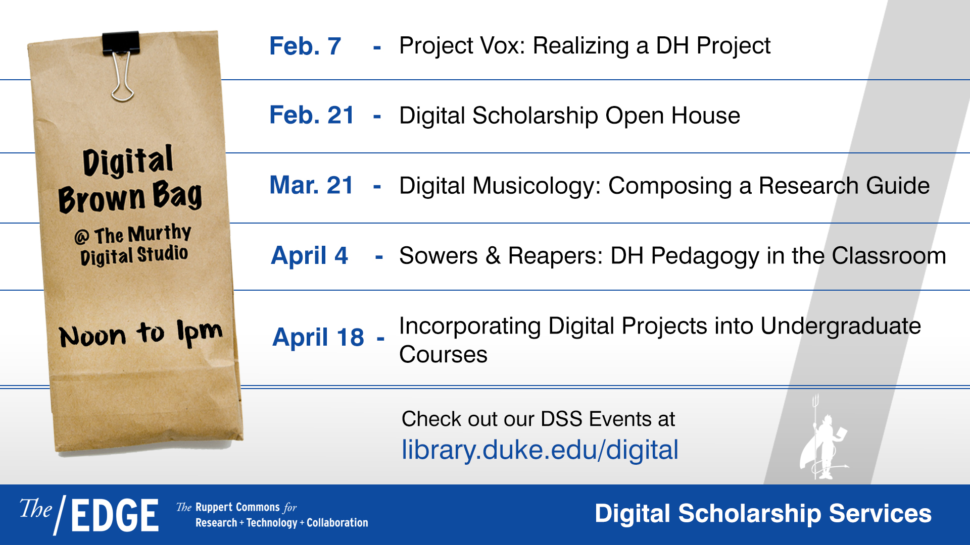 Digital Scholarship Open House