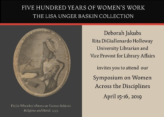 Women Across the Disciplines Symposium