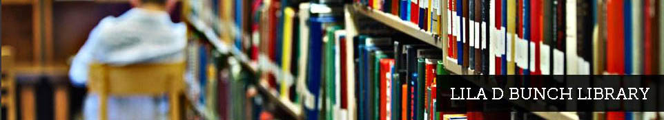 Bunch Library LibCal
