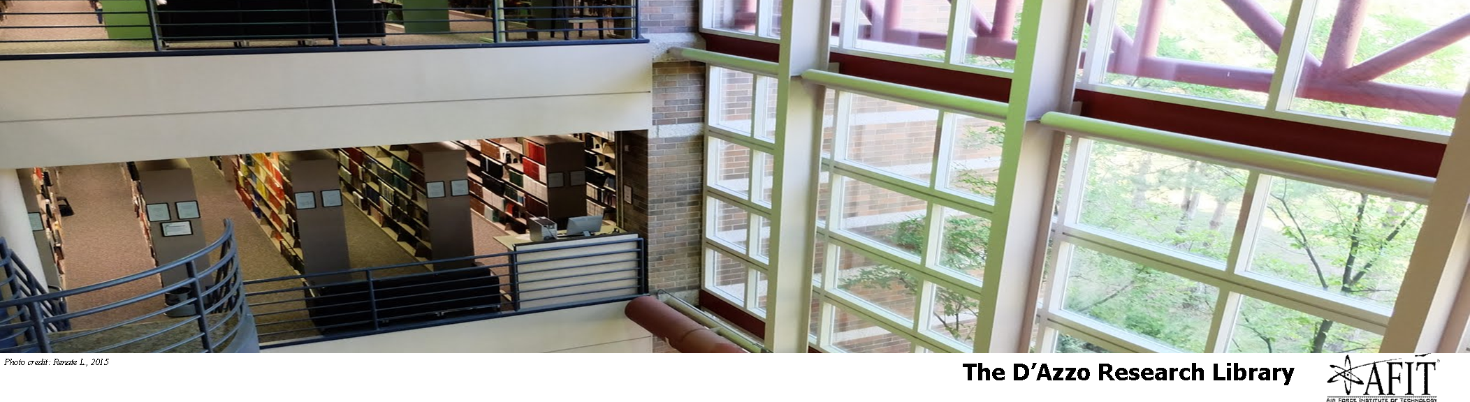 The D'Azzo Research Library at AFIT AFIT Library Events and Spaces