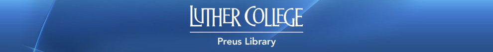 Preus Library Research Help