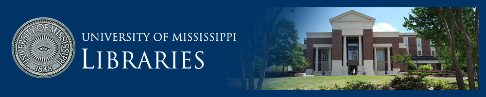 University of Mississippi Libraries Library Calendar