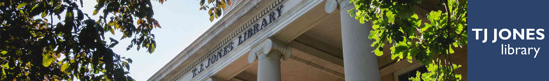 T. J. Jones Library LibCal