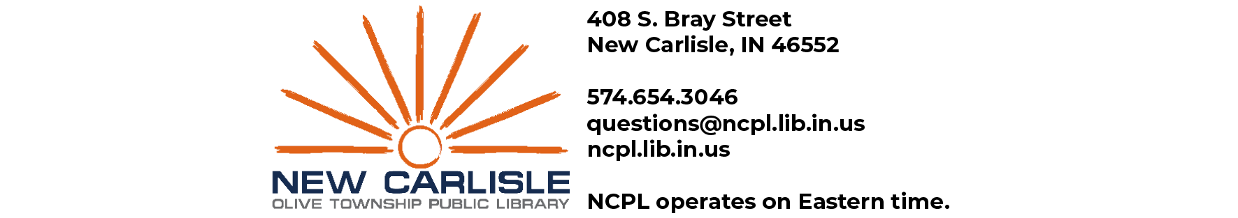 New Carlisle-Olive Township Public Library Library Events