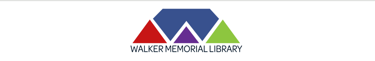 Walker Memorial Library LibCal