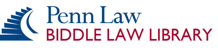 University of Pennsylvania Law School LibCal